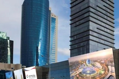 reklama na mediafasade nur-sultan kazakhstan